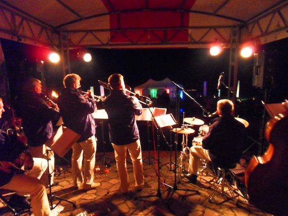 Sommerfest 2013 - Die Breitling-Stompers aus Rostock - am 27. Juli im Park hinterm Schloß Lelkendorf