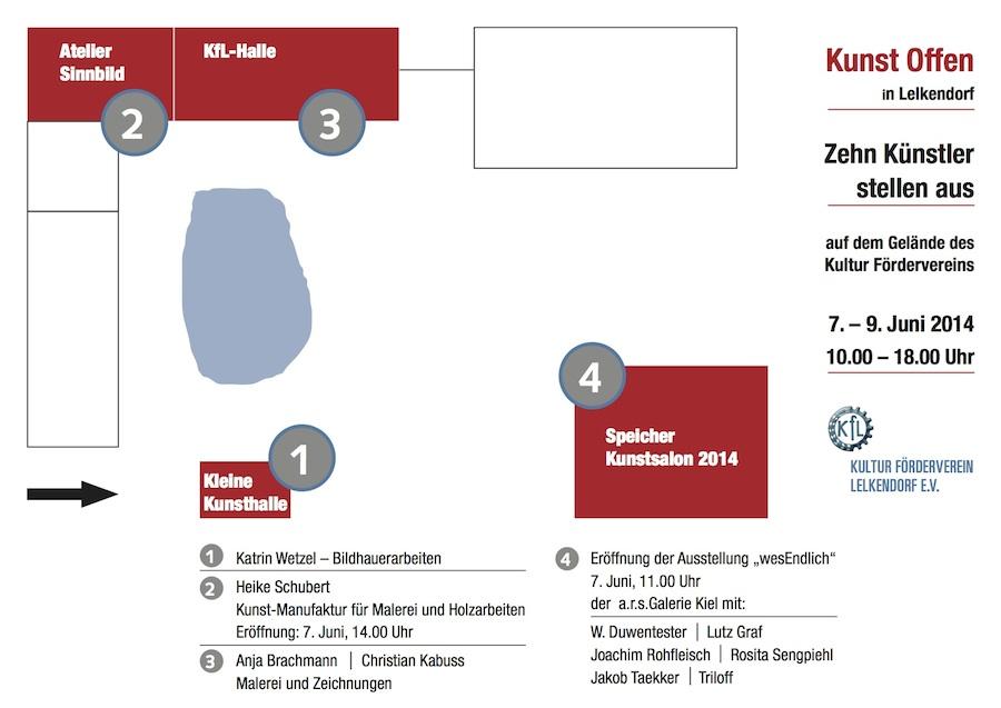 KunstOffen in der KfL-Halle Lelkendorf