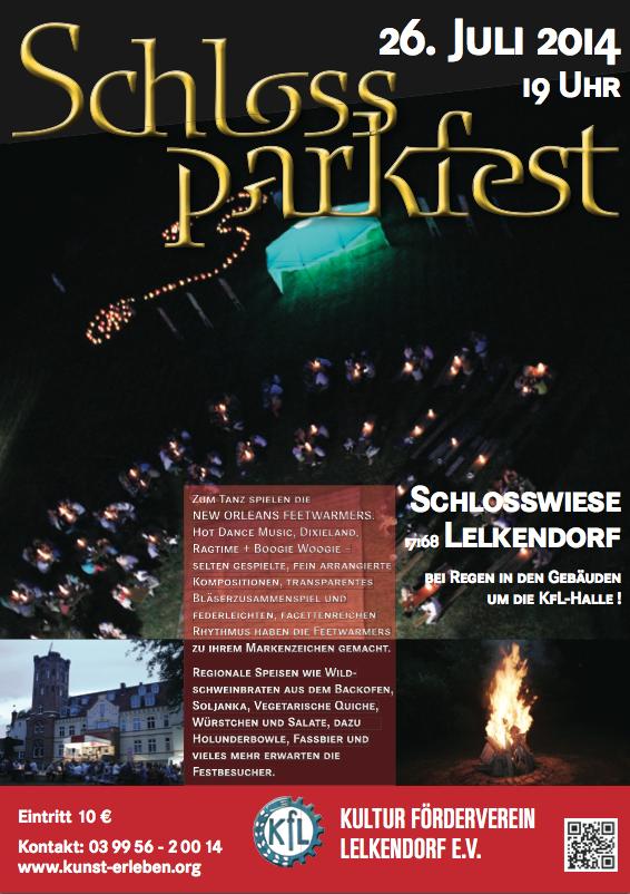 Plakat KfL Sommerfest 2014